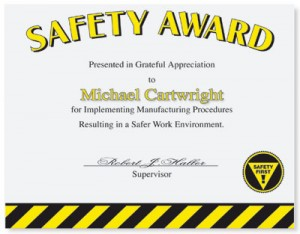 Safety Casual Certificates