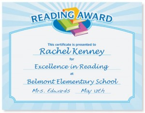 School certificate templates help students paperdirect blog reading award casual certificate when yelopaper Gallery
