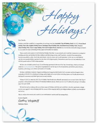 How to write a personalized christmas message on behalf of the boss carefree christmas border papers by paperdirect m4hsunfo