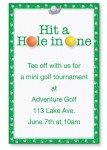 Chip Shot Golf Invitations by PaperDirect