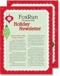 Christmas Fantasy Newsletters by PaperDirect