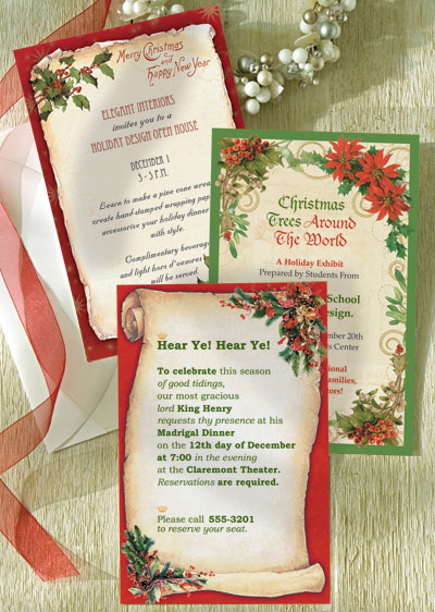 christmas invitations for business