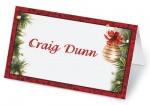Christmas Twilight Folded Place Cards by PaperDirect