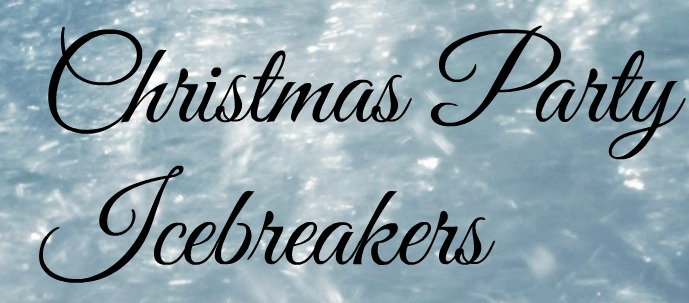 christmas party icebreakers