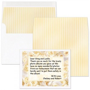 Proper Wedding Gift Thank You Note : Learn more about wedding etiquette by reading these PaperDirect blogs: