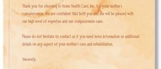 Health Care Letterhead