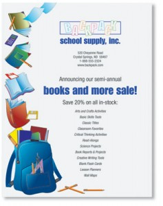 customizable back to school flyers for your events paperdirect blog