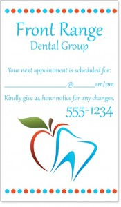 Dental Logo Business Card by PaperDirect