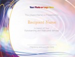 Diaphanous Modern Certificates by PaperDirect