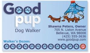 Build Dog Walker Flyer Free Template