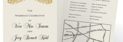 How To Put A Map On Your Wedding Invitations
