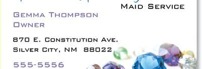 Gems Business Cards