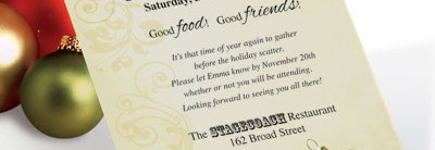 Golden Filigree Casual Invitations by PaperDirect