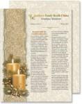 Golden Glimmer Newsletters by PaperDirecrt