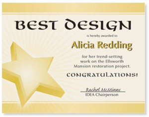 Golden Star Casual Certificates  by PaperDirect