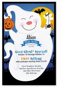 Good Ghost Invitations