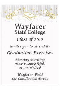 Need Help With Graduation Invitations Wording Start Here