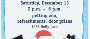 Jolly Holiday Christmas Border Paper