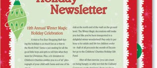 Christmas Fantasy Newsletters