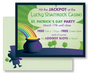 Lucky Leprechaun Postcards  by PaperDirect