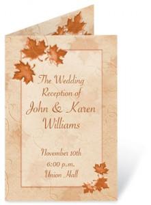5 Fall Wedding Flower Ideas