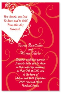 Valentines Day Wedding Tips PaperDirect Blog - Valentine's day invitation template