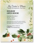 Holiday Holly Border Paper by PaperDirect