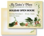 Holiday Holly Postcards by PaperDirect