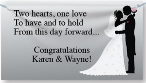 Wedding and anniversary banners paperdirect blog