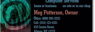Internet Global 1 Custom Printed Business Cards