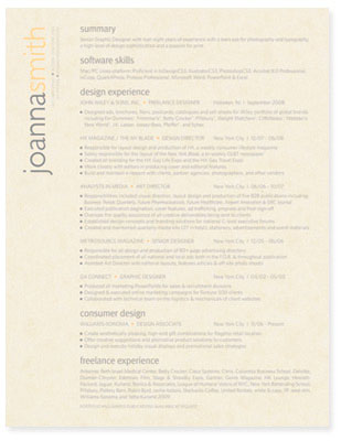 what is resume paper