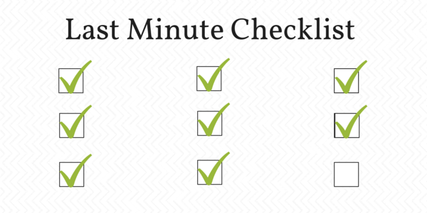 christmas party planning tip 11 last minute checklist
