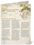 Luminous Holiday Newsletters by PaperDirect