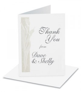 wedding thank you samples