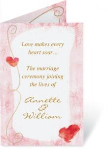 Wedding Program Wording What To Include Paperdirect Blog