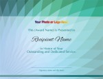 Pavo Modern Certificates by PaperDirect