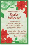 Poinsettia Petals Casual Invitations by PaperDirect