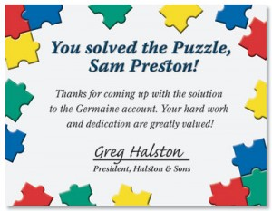 Puzzle Pieces Certificates by PaperDirect