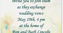 Darling Blooms Casual Invitations