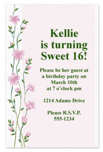 Sweet Sensation Casual Invitations by PaperDirect