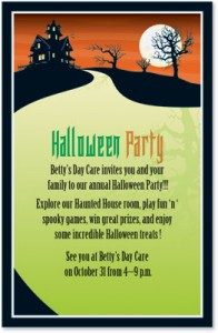 Creative Halloween Invitations