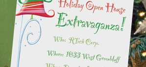Christmas Casual Invitations by PaperDirect