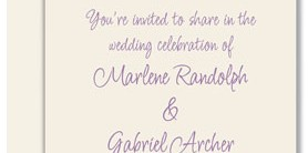 Heritage Flat Invitations
