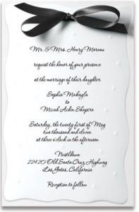 Writing Wedding Invitations   PaperDirect Blog
