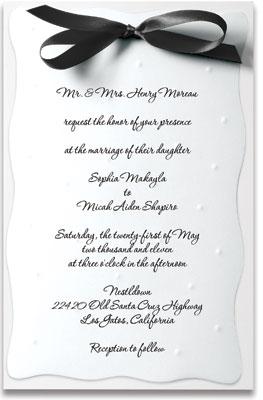Wedding invitation sample gallery paperdirect blog wedding invitation samples stopboris Image collections