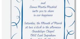 Loops Folded Invitations