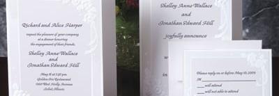Floral Bouquet Invitations
