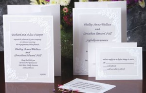 Floral Bouquet Folded Invitations