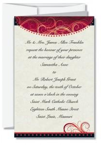 Traditional Wedding Invitation Wording PaperDirect Blog