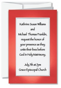 Christian Wedding Invitation Wording | PaperDirect Blog